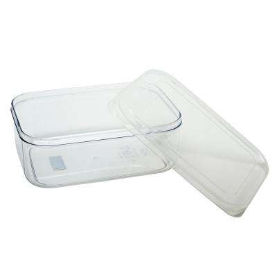 Micro Clear 3-Piece Plastic Container Set