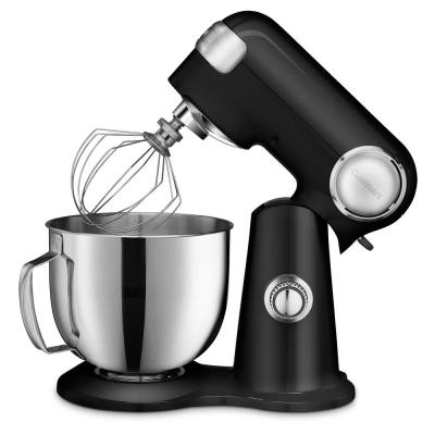 Precision Master 5.5 Qt. 12-Speed Black Die Cast Stand Mixer