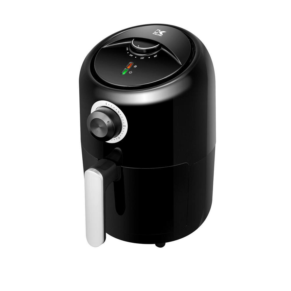1.75 Qt. Black Personal Air Fryer