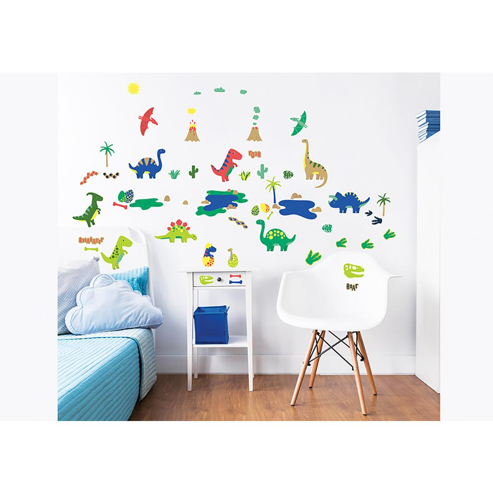 Walltastic Woodland Wall Stickers Tree Animals Baby Nursery