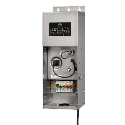 12-Volt 300-Watt Stainless Steel Multi-Tap Transformer