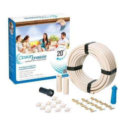 Ocean Breeze Evaporative Mist Cooling System