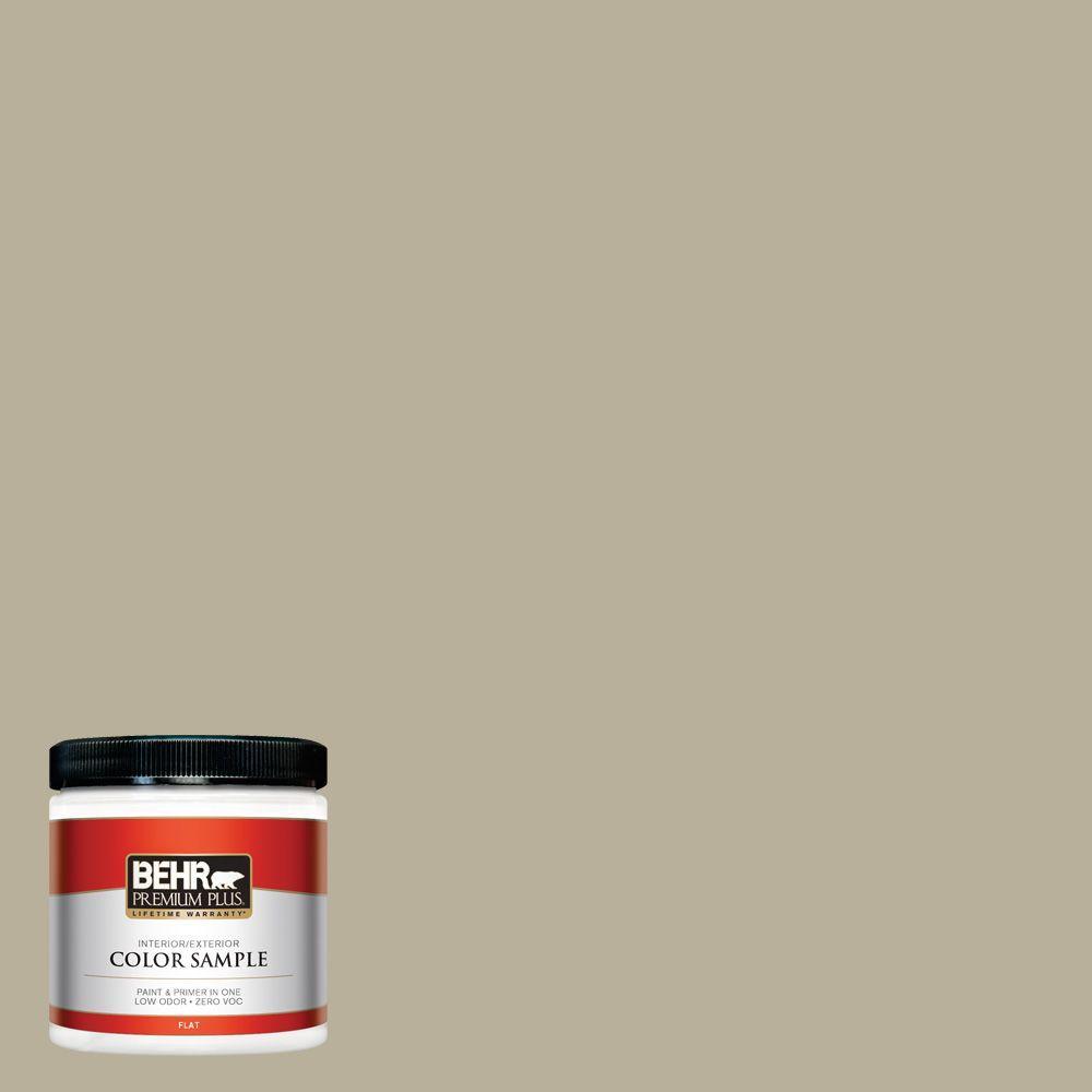 Behr premium plus ultra 8 oz. #w-d-200 pot of cream matte interior.