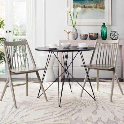 Wren Gray 19 in. H Spindle Dining Chair (Set of 2)