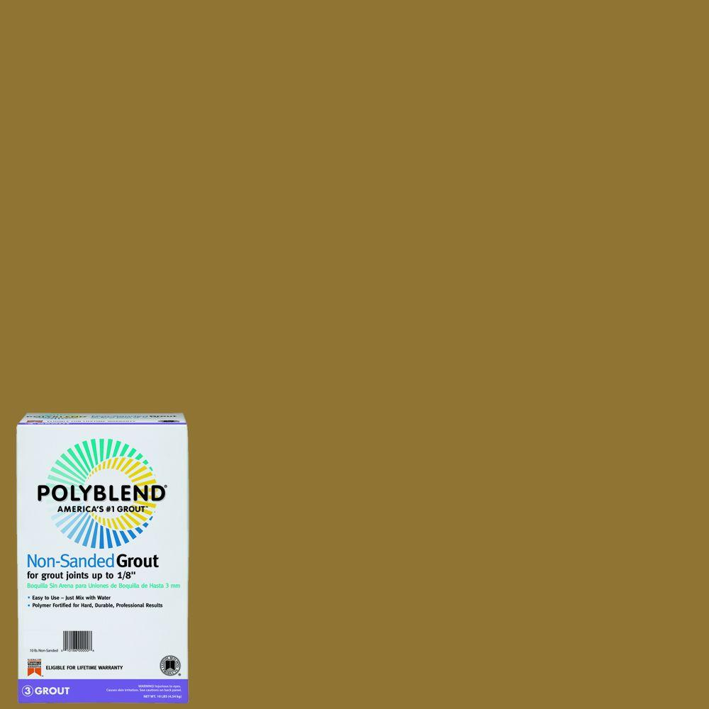 Custom Building Products Polyblend #45 Summer Wheat 10 lb. Non-Sanded Grout
