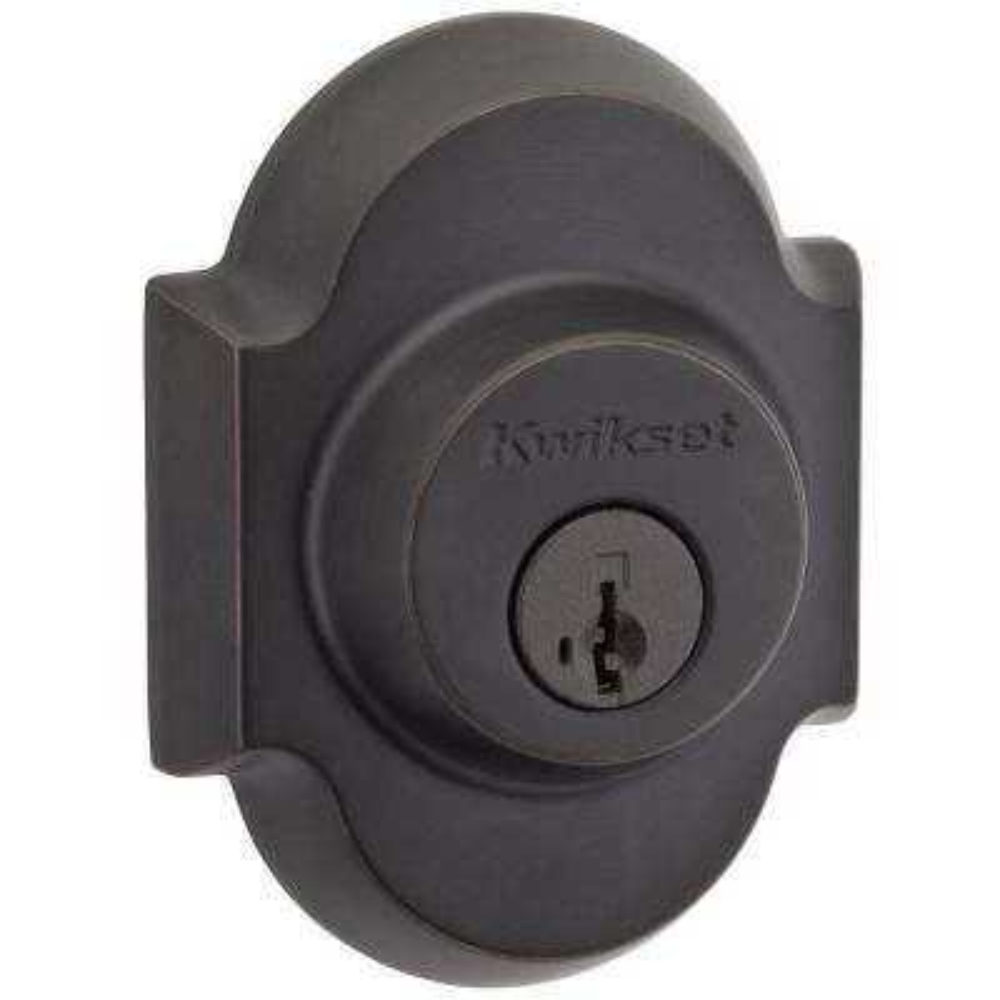 Austin Venetian Bronze Single Cylinder Deadbolt Featuring SmartKey Security