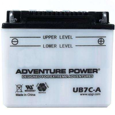 Sealed AGM V-Twin Heavy Duty 12-Volt 22 Ah Capacity HD Terminal Battery