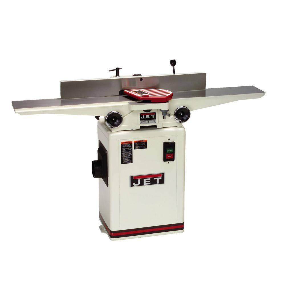 Jet 1 HP 6 inch Woodworking Jointer w/ Quick-Set Knive System, 115/230-Volt, JJ-6CSDX