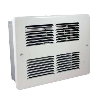 WHF 240-Volt 1500-750-Watt Wall Heater in White