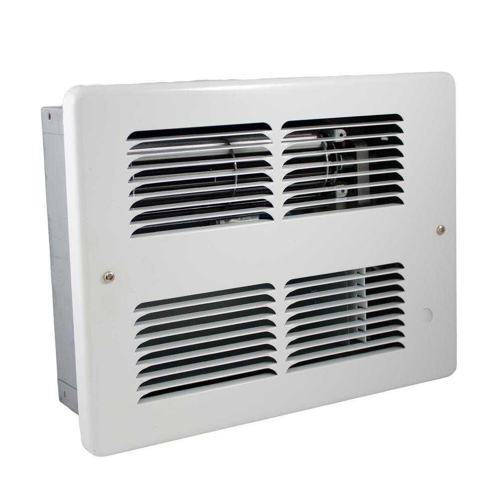 WHF 240-Volt 2000-1000-Watt Electric Wall Heater in White