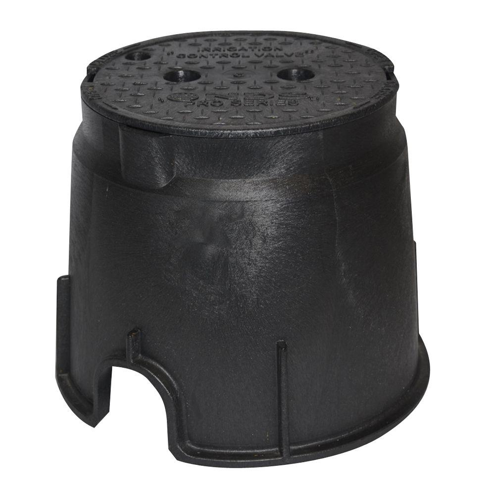Pro Series 10 in. Round Valve Box and Cover - ICV