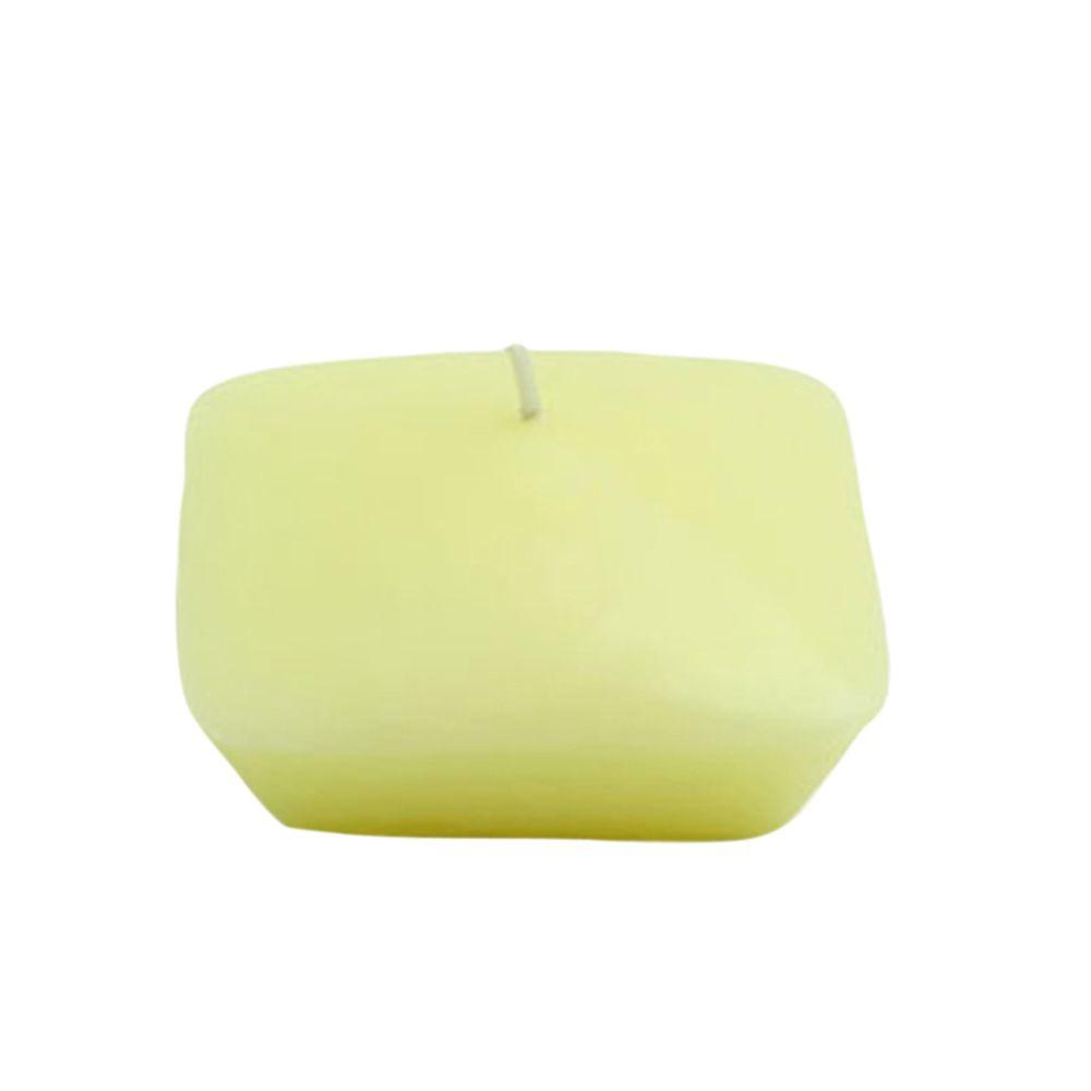 Zest Candle 3 in. Ivory Square Floating Candles (6-Box)
