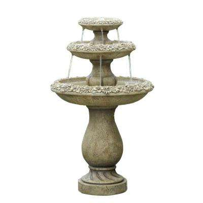 Two Tiers Outdoor Water Fountain