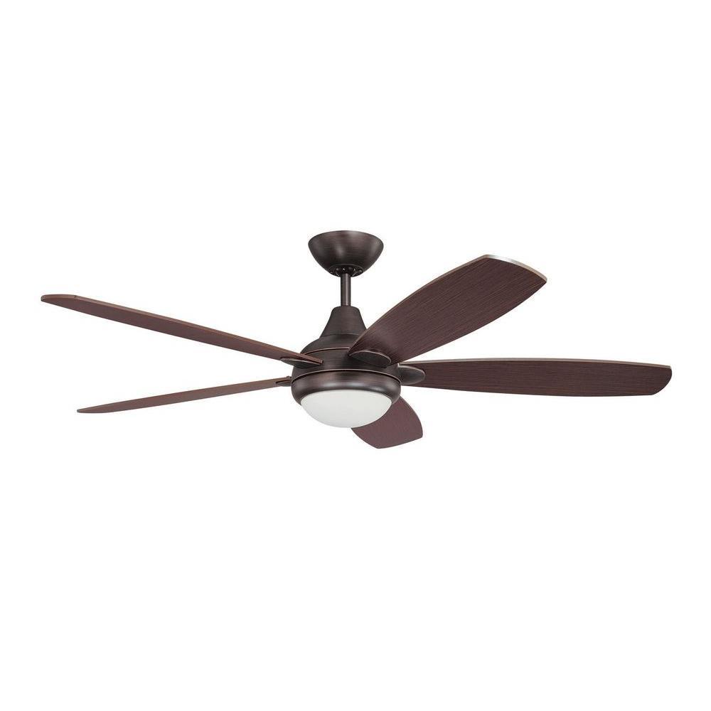 Cassiopeia 52 in. Copper Bronze Indoor Ceiling Fan
