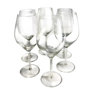 Click here to buy Epicureanist Illuminati Red Wine Glasses (Set of 6) by Epicureanist.