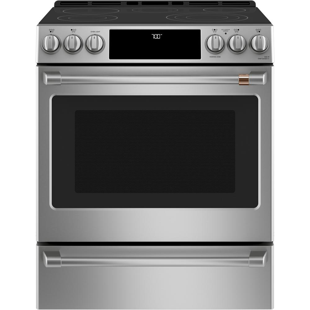 Smart Slide In Electric Range With Self
