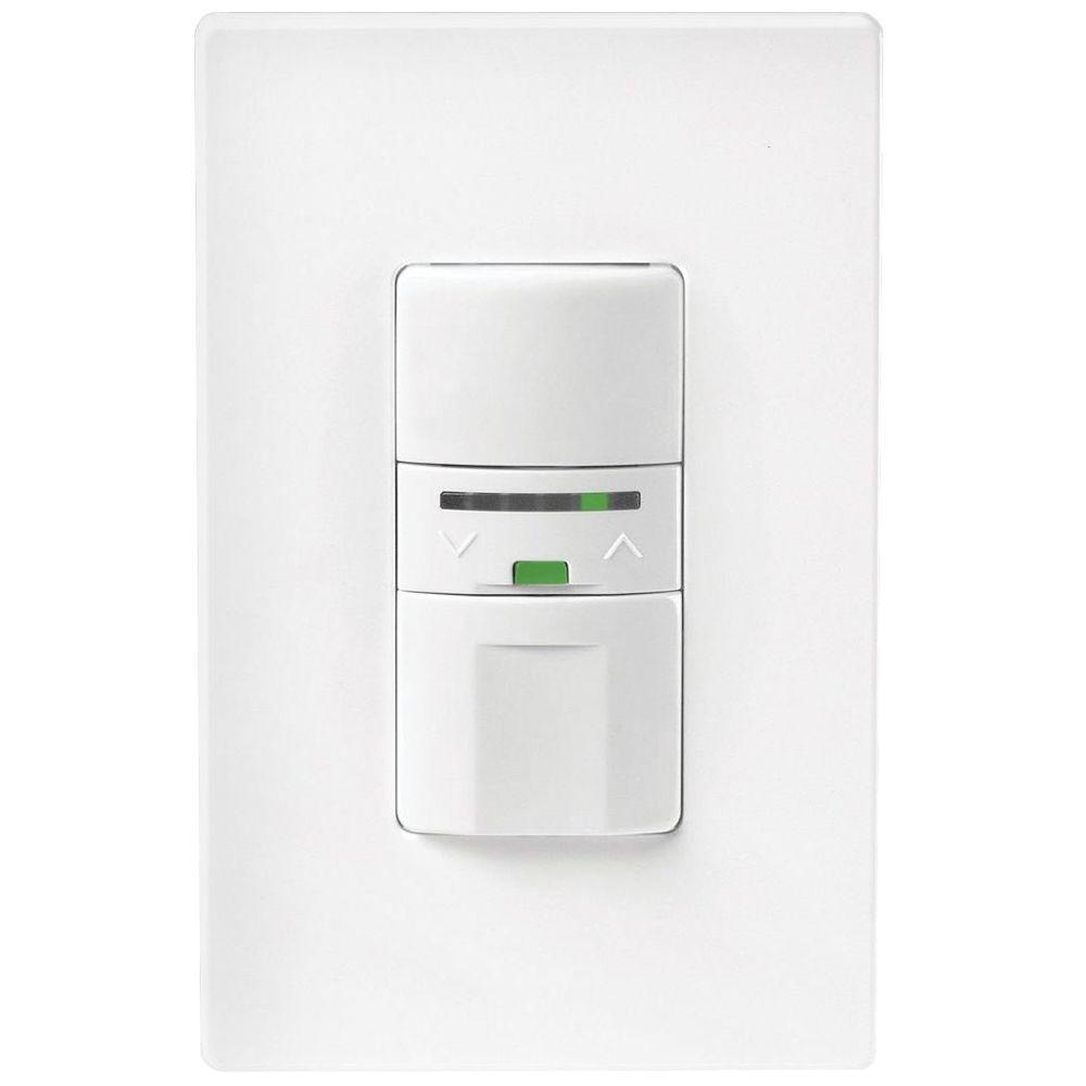 Motion-Activated Vacancy Dimmer Wall Switch with Color Change Kit,