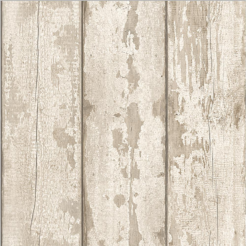 Arthouse White Washed Wood Wallpaper 694700 The Home Depot