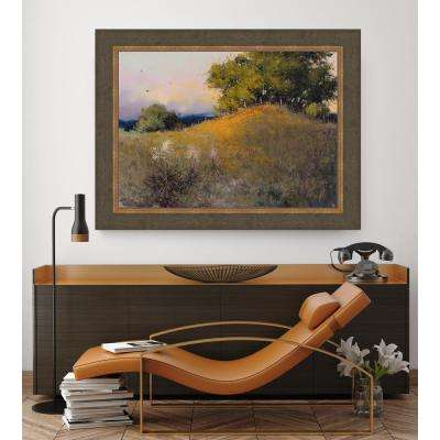 38.5 in. x 48.5 in. 'Evening Splendor' by HC Zachary Fine Art Canvas Framed Print Wall Art
