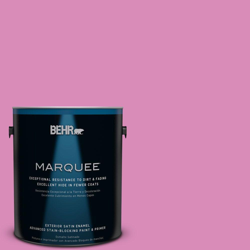 BEHR MARQUEE 1-gal. #P120-3 High Maintenance Satin Enamel Exterior Paint