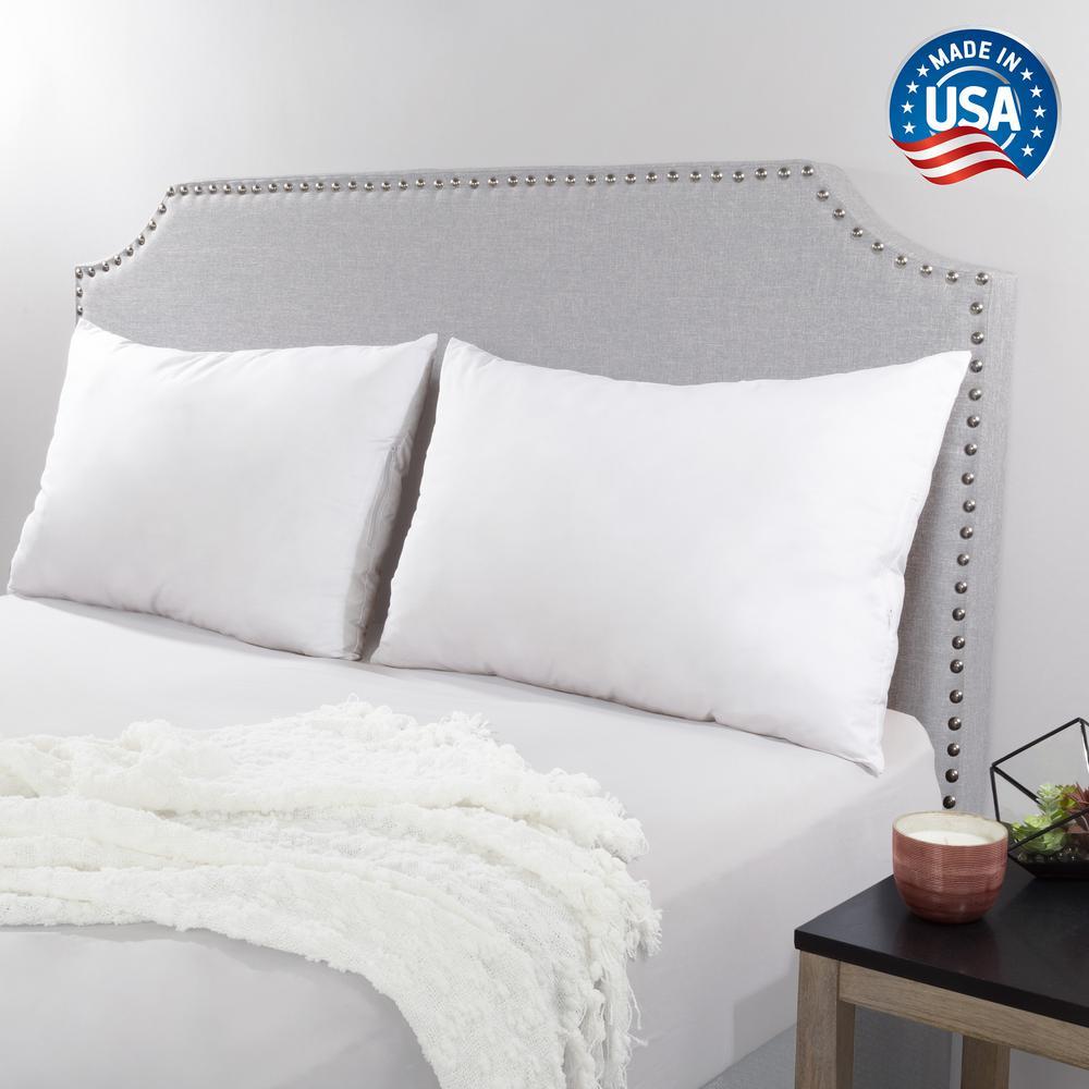 Hypoallergenic Down Alternative Queen Pillow (Set of 2)