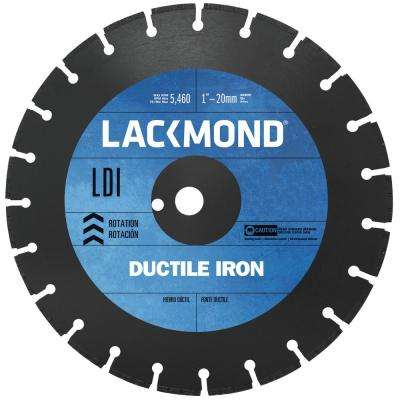 12 in. Segmented Diamond Blade for Cutting Ductile Iron Pipe