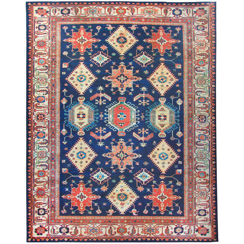 Washable Noor Shire 8 Ft X 10 Stain Resistant Area Rug
