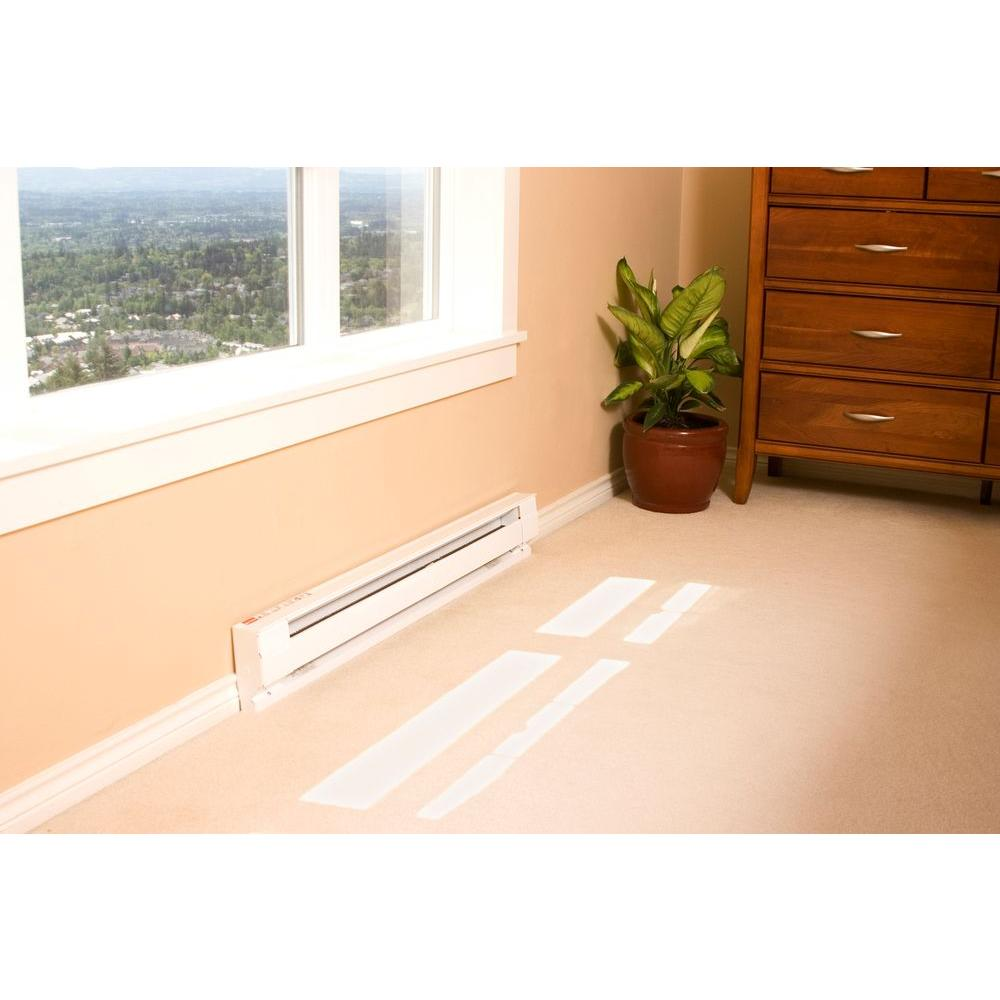 White 120 Volt 500 Watt Model# 2F500W-1W Cadet Electric Baseboard Heater