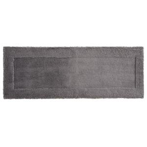 Mohawk Dynasty 24 inch x 60 inch Micro Denier Polyester Runner Bath Rug in Pewter by Mohawk