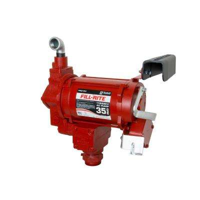 230-Volt 3/4 HP 35 GPM Fuel Transfer Pump with No Accessories (Pump Only)