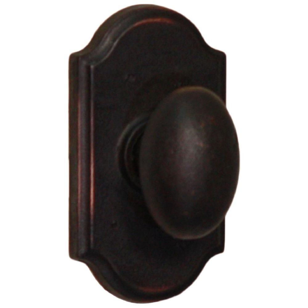 Molten Bronze Oil-Rubbed Bronze Premiere Passage Durham Knob