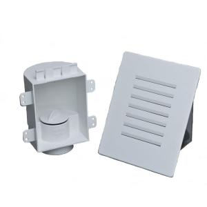 Studor 4 1 8 In X 7 1 8 In Mini Recess Box With Grille