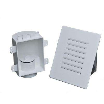 4-1/8 in. x 7-1/8 in. Mini Recess Box with Grille