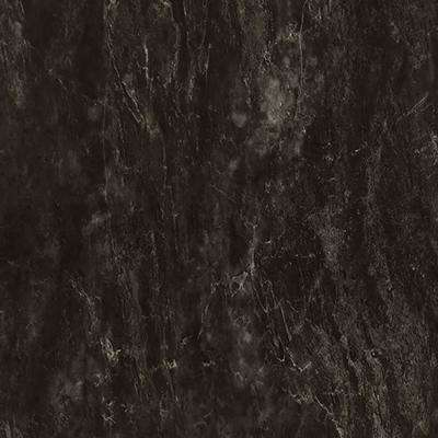 5 ft. x 12 ft Laminate Sheet in Black Bardiglio with Matte Finish
