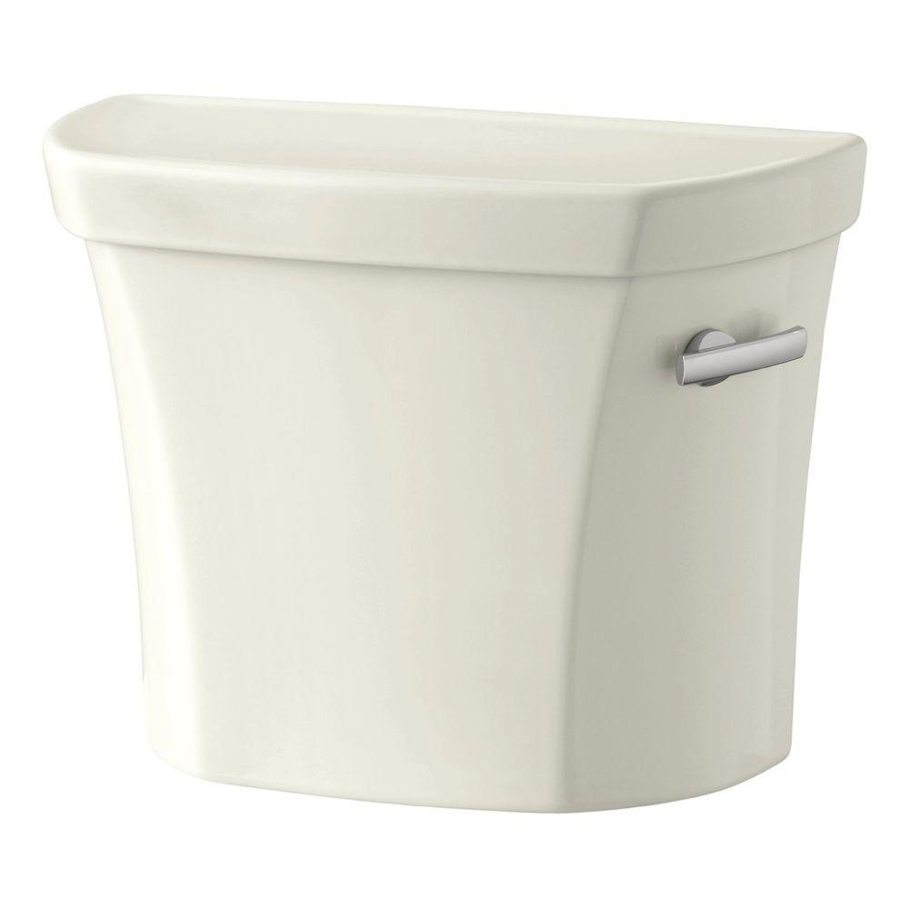 Wellworth 1.6 GPF Single Flush Toilet Tank Only in Biscuit