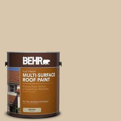 1-gal. #RP-15 Summer Sage Flat Multi-Surface Roof Paint