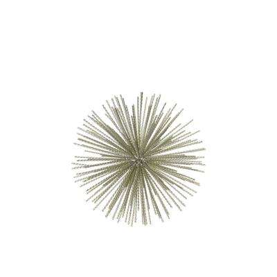 9.00 in. H Sculpture Decorative Sculpture in Champagne Coated