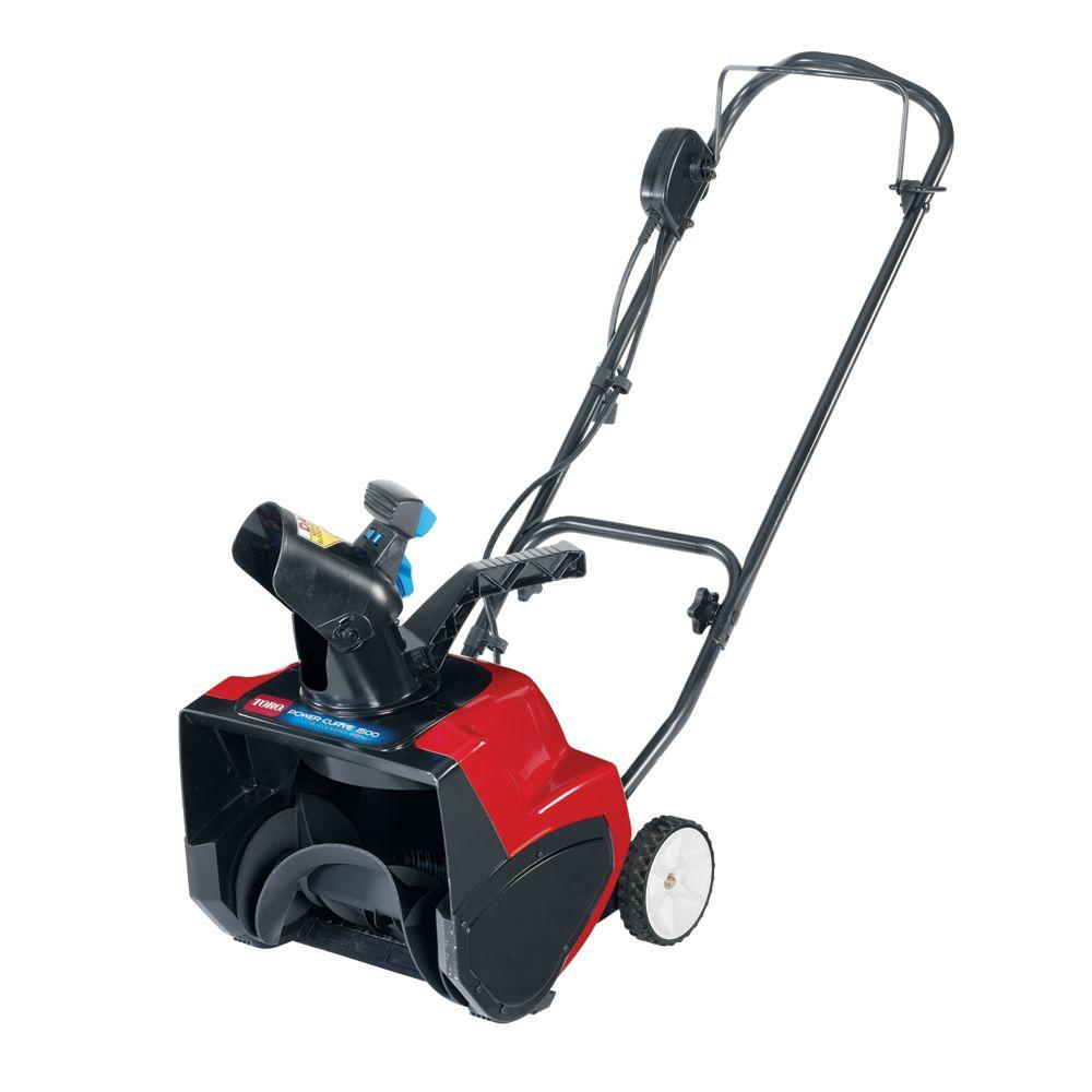 toro power curve 15 in 12 amp electric snow blower 38371 the home