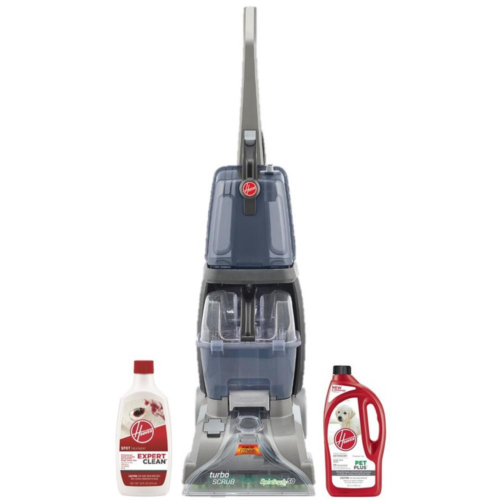 Hoover Turbo Scrub Upright Carpet Cleaner With Spot And