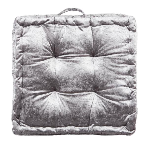 Peony 18 in. x 18 in. Polyfill Square Floor Pillow