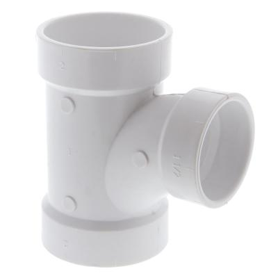 2 in. x 2 in. x 1-1/2 in. PVC DWV All-Hub Sanitary Reducing Tee