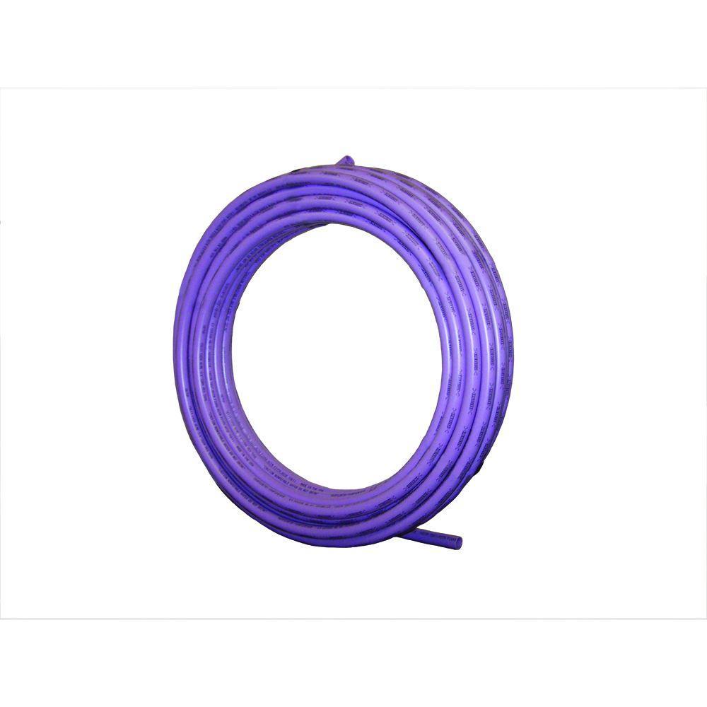 1/2 in. x 300 ft. Purple Reclaimed Water PEX Pipe