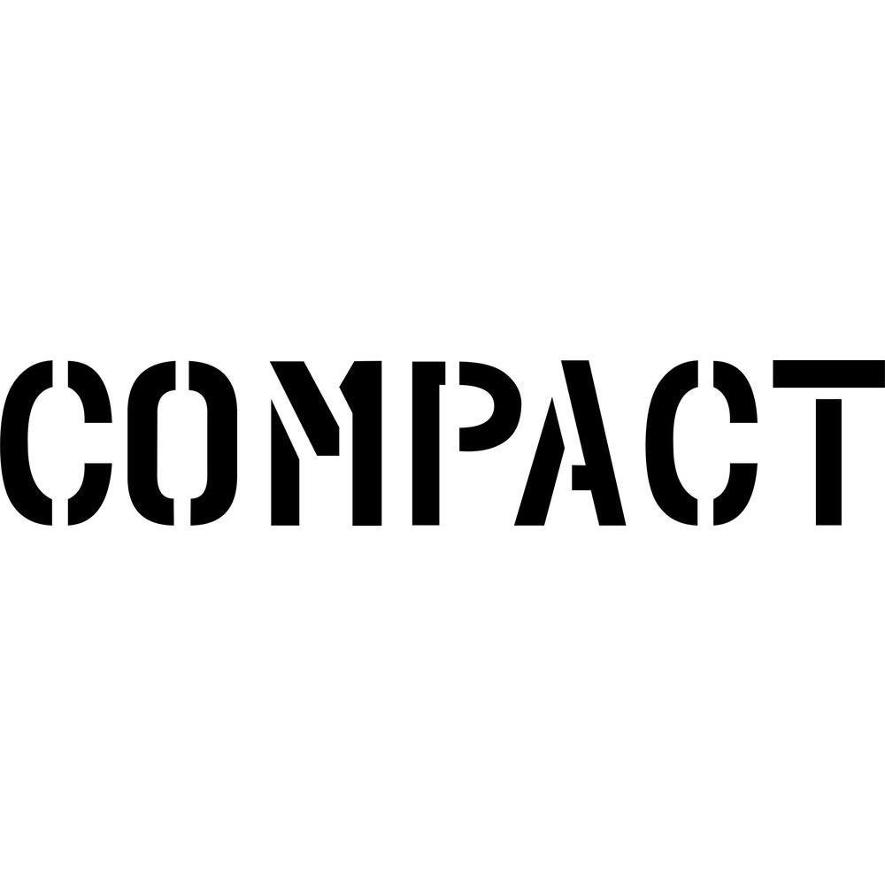 4 in. Compact Stencil
