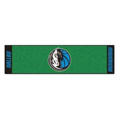 NBA Dallas Mavericks 1 ft. 6 in. x 6 ft. Indoor 1-Hole Golf Practice Putting Green
