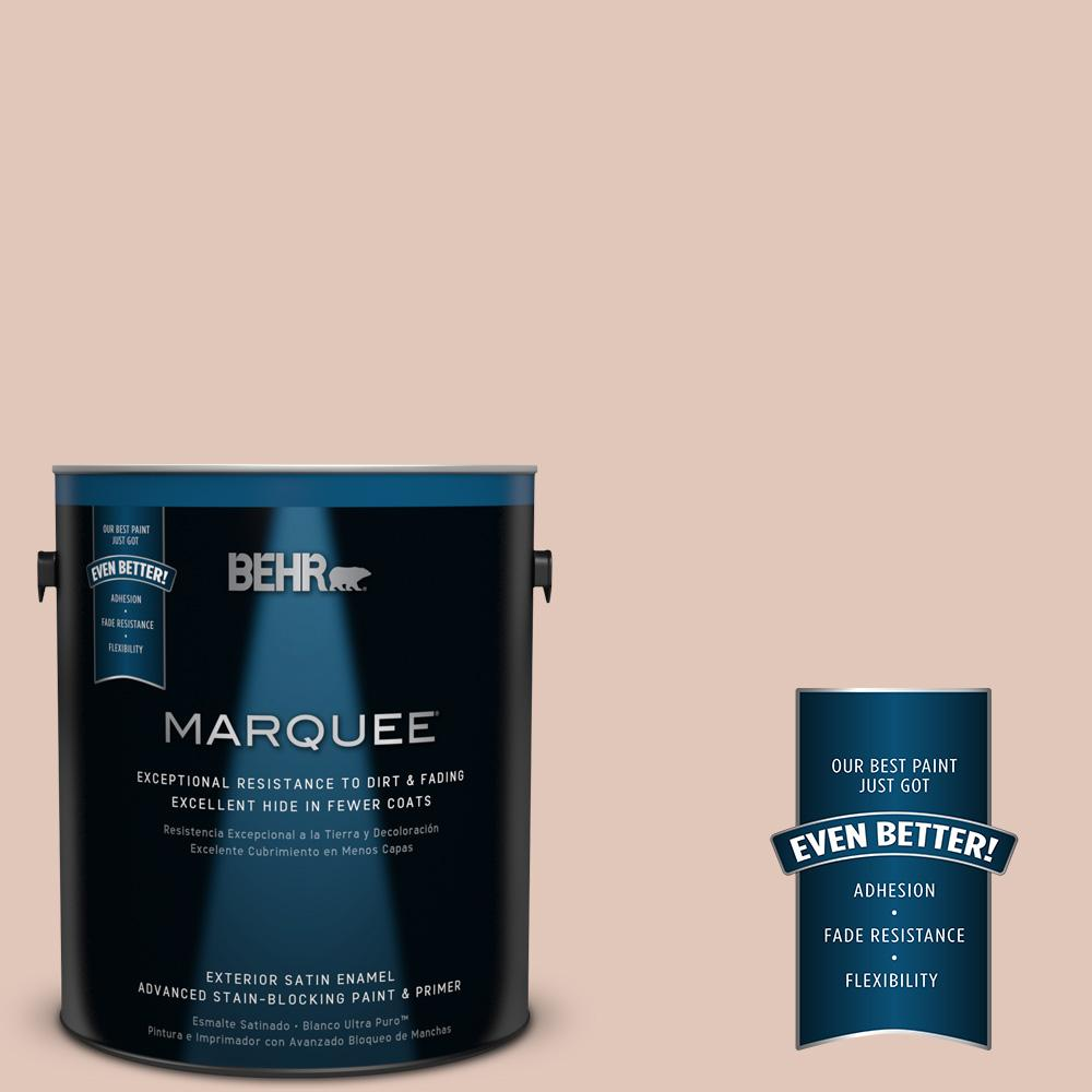 BEHR MARQUEE 1-gal. #S190-2 Sand Dance Satin Enamel Exterior Paint