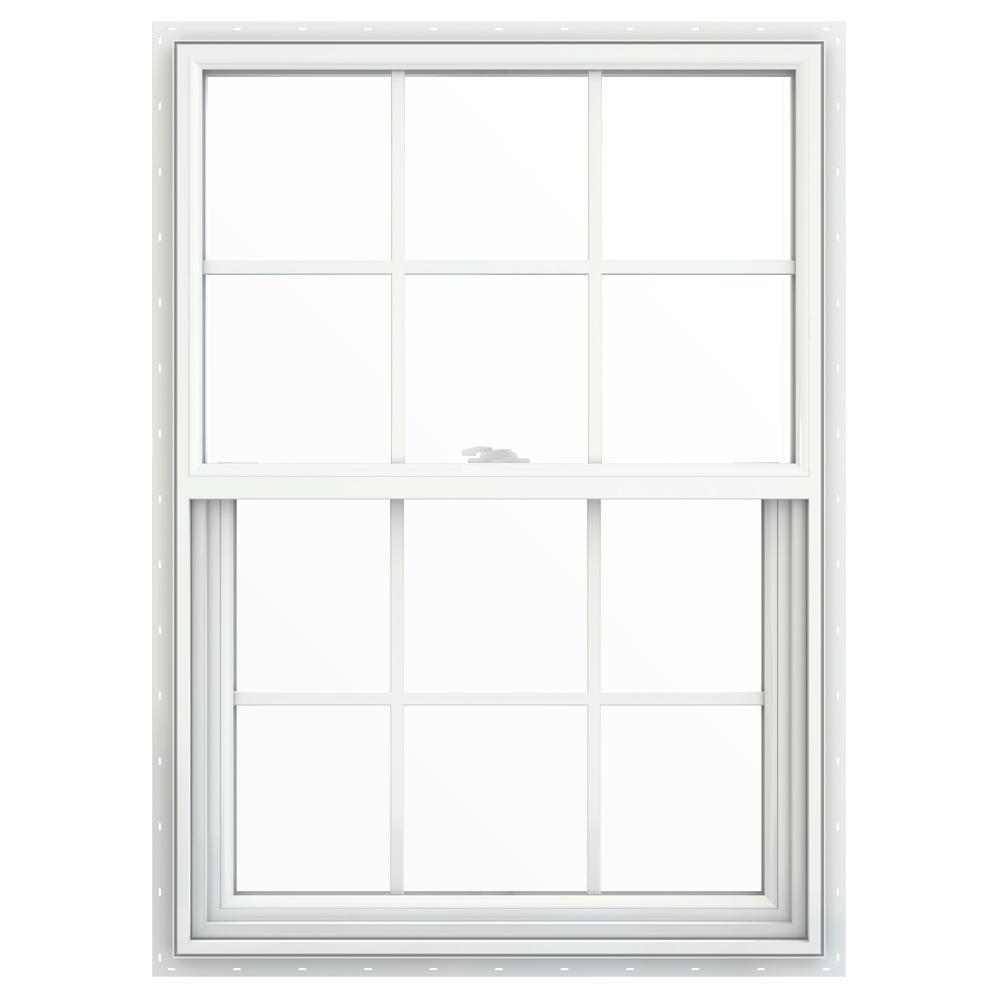 29.5 in. x 41.5 in. V-2500 Series Single Hung Vinyl Window