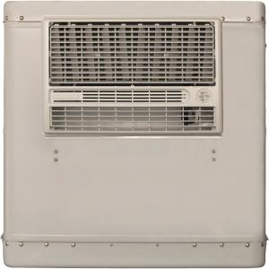 Champion Cooler 4700 CFM 2-Speed Window Evaporative Cooler for 1600 sq  ft   (with Motor and Remote Control)-RWC50 - The Home Depot