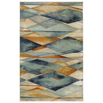Diamond Illusion Multi 5 ft. x 7 ft. Area Rug