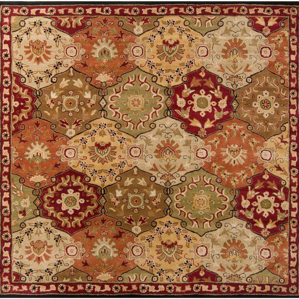 Artistic Weavers John Red 10 Ft X