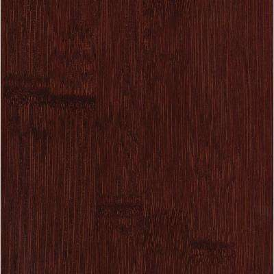 Hand Scraped Horizontal Cafe 3/8 in. x 5 in. Wide x 38-5/8 in. Length Click Lock Bamboo Flooring (21.44 sq. ft. / case)